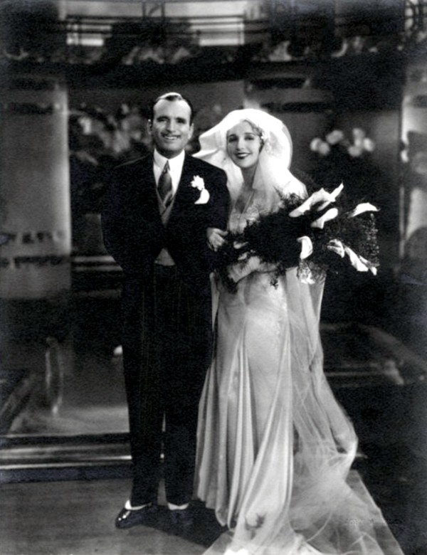 douglas fairbanks y mary pickford boda travis banton