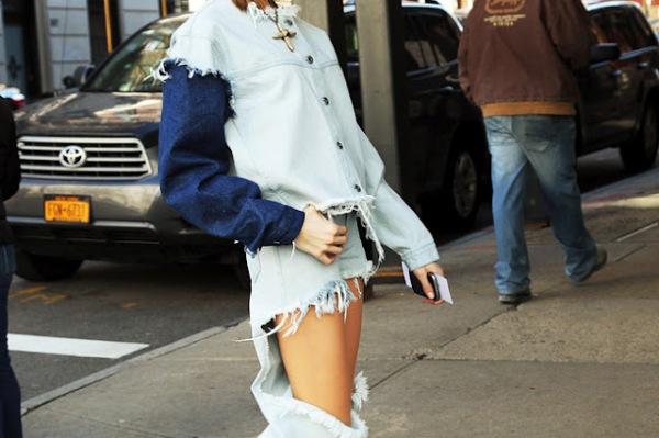 marques almeida ss2012 tendencias absurdas pantalones rotos